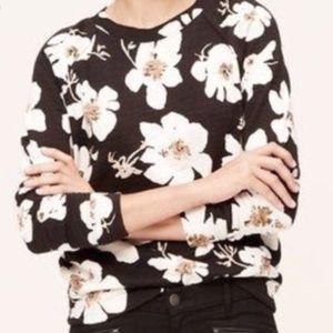 LOFT floral pullover